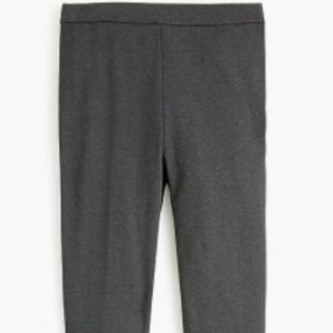 J.Crew NWT Gray Any day pant in eco ponte SMALL